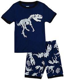 IF Pajamas Dinosaur Baby Boys Shorts Set Pajamas 100% Cot... https://www.amazon.com/dp/B01G4IG5UU/ref=cm_sw_r_pi_dp_F83xxbND167CH