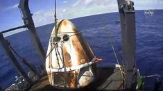 A few hours ago, the SpaceX Crew Dragon splashed down in the Atlantic Ocean, about 200 miles off the coast of Florida. The splashdown is the last act in what has been a successful first flight for the Crew Dragon. Spacex Dragon, Soyuz Spacecraft, Falcon 9 Rocket, Universe Today, Cape Canaveral, Nasa Astronauts, International Space Station, Space Program, Science News