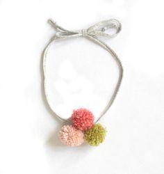 Image of Pom Pom Necklace