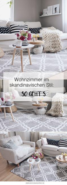 Anzeige   Wohnzimmer Im Skandinavischen Stil Einrichten. #OTTOliving  Wohnzimmer Mit OTTO Umgestalten. Wohnzimmer