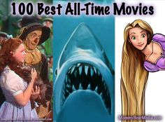 List of the Top 100 Best Movies of all Time