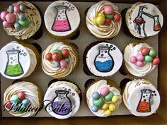 Science/Laboratory Cupcakes | BlakeyCakes Cupcakes    https://www.facebook.com/pages/BlakeyCakes/161822443843621