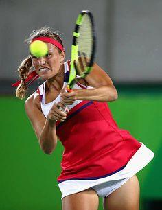 Monica Puig, Angelique Kerber, Puerto Rico, Maria Sharapova Hot, Sport Tennis, Wta Tennis, Tennis Players Female, Rio Olympics 2016, Summer Olympics