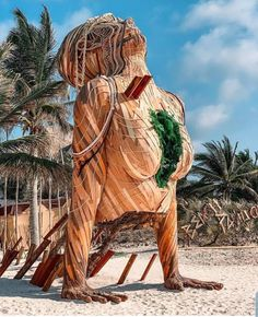 Yoga for weight loss with pictures? Entrance to the pavilion in Tulum earlier this year. Outdoor Sculpture, Sculpture Art, Simon Garfunkel, Upward Dog, Large Scale Art, Electric Daisy Carnival, Art Carved, Visionary Art, Street Artists