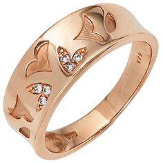 Dreambase Damen-Ring teilmattiert 14 Karat (585) Rotgold ... https://www.amazon.de/dp/B00EYH4LQO/?m=A37R2BYHN7XPNV