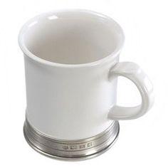 Match Pewter Convivio Classic White Mug