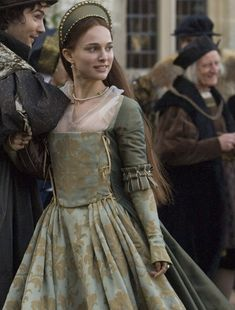 The Other Boleyn Girl. Costumes/ Fashions from the Tudor and Elizabethan Age 15th and 16th century