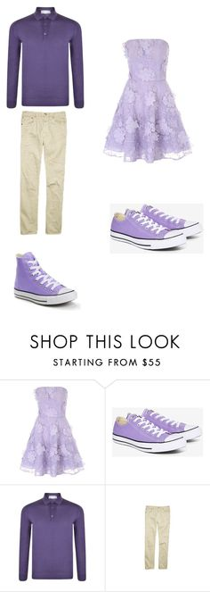 """""""Untitled #328"""" by kassidyrobinson on Polyvore featuring Jane Norman, Converse, John Smedley and Ralph Lauren"""