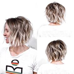 Textured Bob With Highlighted Layers