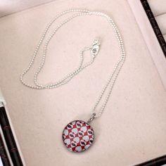 Arkansas Razorbacks Dayna U Women's Stainless Repeating Hearts Pendant Necklace, Your Price: $14.99