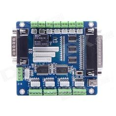 5 Axis CNC Breakout Board for Stepper Motor Driver with DB25 Cable