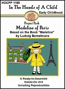 Madeline of Paris Lapbook - Hands of a Child |  | Literature | PreK-2ndCurrClick