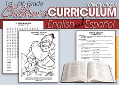 Free Bible Curriculum: 325 Bible Studies (Grades PreK-6th) Calvary Curriculum offers 325 free Bible studies for grades 1st – 6th. http://www.freehomeschooldeals.com/free-bible-curriculum-325-bible-studies-grades-prek-6th/ #TOSMag #homeschool