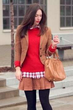 Preppy Fall Style | Hairstyles and Beauty Tips