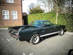 Mustang pick-up Bullit Green