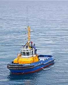 Tug Boat with Azapod technology.