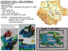 Jihočeský kraj - Kraj rybníků Czech Republic, Science, Map, Education, Halloween, Location Map, Flag, Cards, Maps
