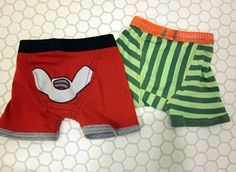 Turn old t-shirts into boxer briefs.  This is the perfect tutorial for this mom of four boys.... might make some for the hubby too!