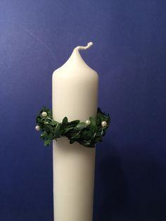 Tropfenfänger mit Perlen für Kerzen mit 4 cm Durchmesser