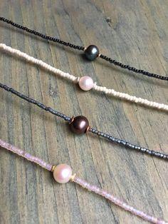 Beaded Pearl Choker Necklace #accessories #jewelrygram #jewelryinspo #cbloggers #beadlove