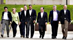 The G8 consists of 8 highly industrialized nations