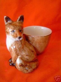 Fox collectable Quail china egg cup NEW Gift boxed | eBay
