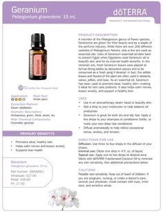 doterra tea tree uses | doTERRA Geranium Essential Oil 15 ml - My Natural Family