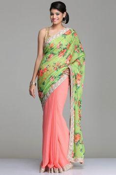floral sarees - Google Search