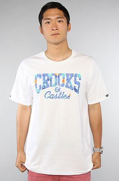 Crooks and Castles The Island Crooks Tee in White