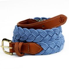 Braided Rope belts