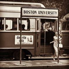 Vintage MBTA Trolley