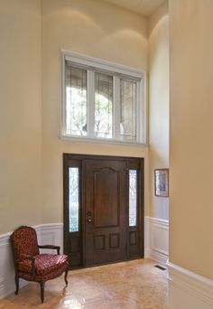 Fiberglass Entry Doors, Foyer, Windows, Furniture, Gallery, Design, Home Decor, Decoration Home, Roof Rack