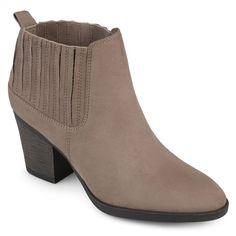 Journee Collection Sero Women's Ankle Boots, Size: medium (8.5), Med Beige