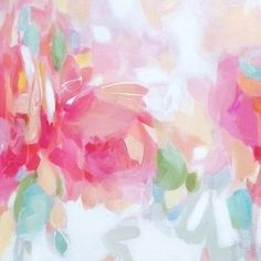 I love the colors in this piece by artist Christina Baker