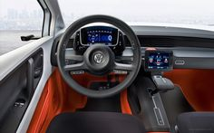 2009 Volkswagen Up Lite Concept Interior Wallpaper Free Download. Resolution 1920x1200 px - GreatCarWallpaper ID 2837