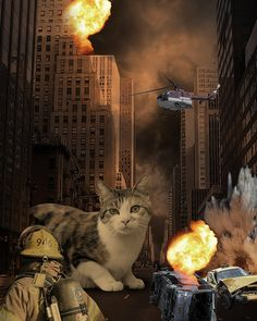 Whiskers Attacks the City by Kevin Lucius.