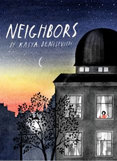 MOVING - Lying in bed, a child reflects on her new apartment, and the neighbors living around and above her, and looks forward to meeting them and her new classmates.