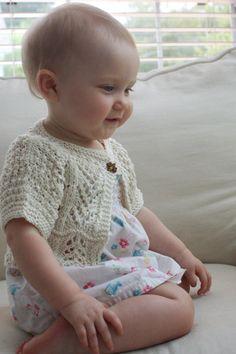 Ailey baby bolero knitting pattern on Etsy, £0.78