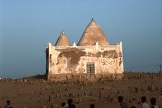 Collections | Regional Surveys | Peggy Crawford: Photographs of Yemen | Al-Shihr. View of cemetery. | Archnet