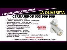 CERRAJEROS LA OLIVERETA VALENCIA 603 909 909