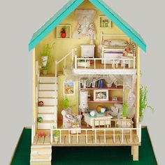 handmade toy houses - Google Search