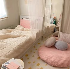 Image discovered by ❥ мєℓ❁η. Find images and videos about aesthetic room on We Heart It - the app to get lost in what you love. Study Room Decor, Room Ideas Bedroom, Small Room Bedroom, Bedroom Decor, Pastel Room, Minimalist Room, Home Room Design, Cozy Room, Aesthetic Bedroom