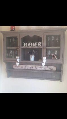 Vintage style shelf
