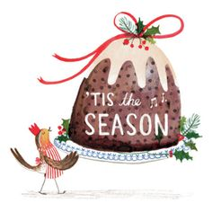 Online portfolio of London based Illustrator, Rachel Stubbs (formerly Rachel Green). Christmas Medley, Christmas Bird, Christmas Drawing, Merry Little Christmas, Retro Christmas, Christmas Design, Christmas Holidays, Christmas Crafts, Christmas Decorations