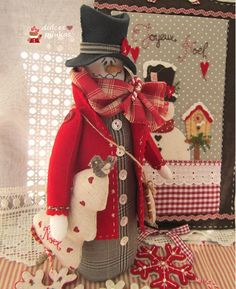 1 million+ Stunning Free Images to Use Anywhere Christmas Crafts To Make, Felt Christmas Decorations, Felt Christmas Ornaments, Christmas Fabric, Christmas Snowman, All Things Christmas, Snowman Crafts, Primitive Christmas, Fabric Decor