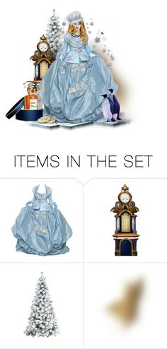 """""""Greta's Old Fashioned Christmas"""" by ellen-hilart ❤ liked on Polyvore featuring art"""