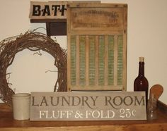 Love the laundry room sign