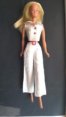 Vintage Newport Barbie #7807 Sunset Malibu doll with clothes 1974