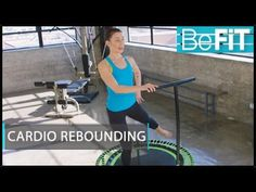 Cardio & Strength Rebounding Workout from BeFiT Trainer Open House is a 20 minute metabolism-boosting weight loss workout that uses a unique series of bounci. Bosu Workout, Tummy Workout, Workouts, Youtube Cardio, Mini Trampoline Workout, Group Fitness Classes, Cardio Routine, Yoga For Beginners, Rebounding
