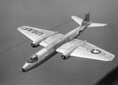 A USAF B-57 Canberra. Clean lines.